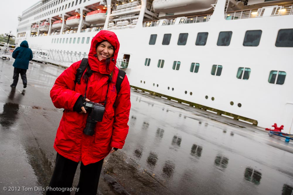 Ship&#039;s photographer in Victoria British Columbia