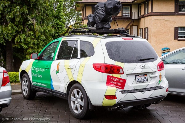 Google Street View Car in Victoria, British Columbia