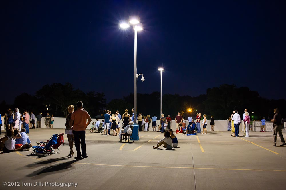 Hanging out before the Fireworks at Dressler's Metropolitan, July 4, 2012