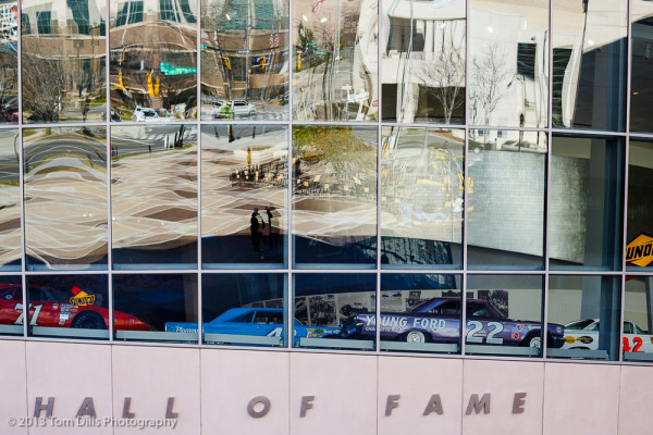 Reflections at the NASCAR Hall of Fame