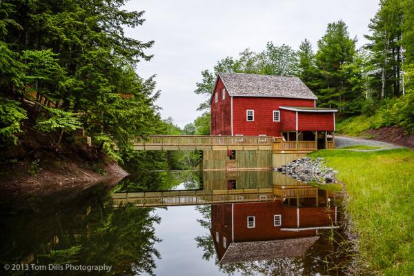 Balmoral Grist Mill Museum in Balmoral Mills, Nova Scotia