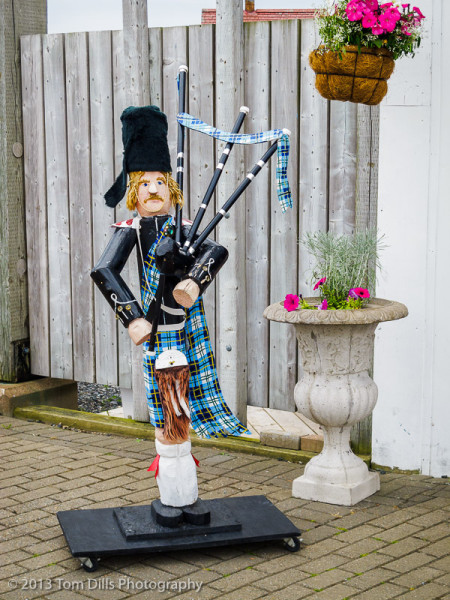 Bagpiper, Pictou, Nova Scotia