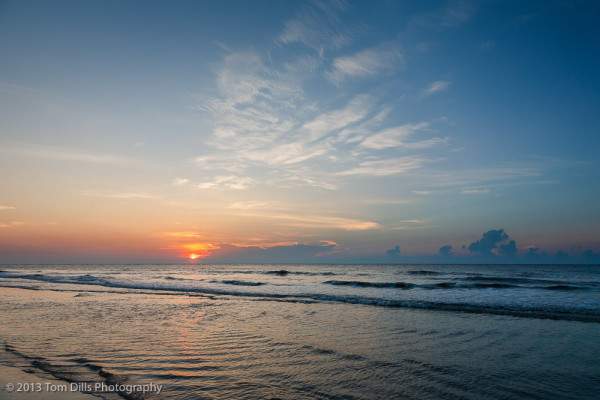 Sunrise on the Beach, Hilton Head Island, South Carolina