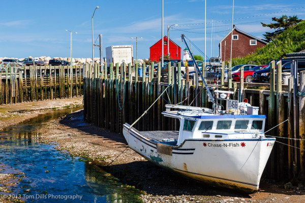 Waiting for The Tide, Hall's Harbour, Nova Scotia