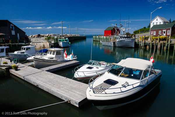 High Tide, Hall's Harbour, Nova Scotia
