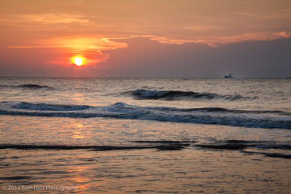Sunrise on the Beach, Hilton Head Island, South Carolina