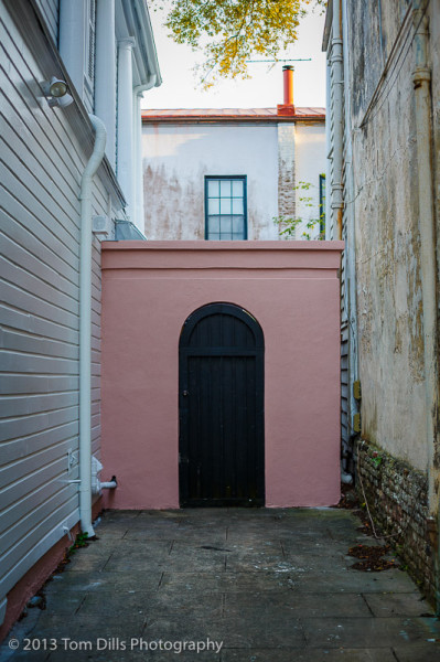 Service Entrance, Charleston, South Carolina