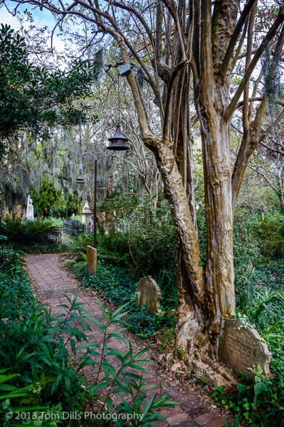 Graveyard behind the Unitarian Church, Charleston, South Carolina