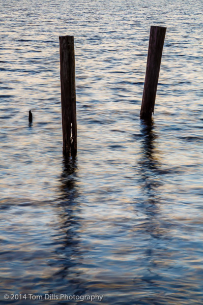 The most photographed posts - at least by me - in Belhaven, North Carolina