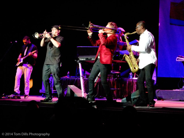 Brian Culbertson performs at the 2014 Lowcountry Jazz Festival in Charleston, South Carolina