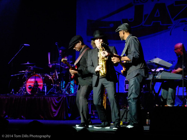 Boney James performs at the 2014 Lowcountry Jazz Festival in Charleston, South Carolina