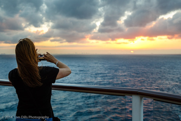 Aboard Celebrity Silhouette on our December 2014 cruise