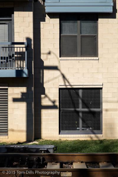 Random shadows, Charlotte NC