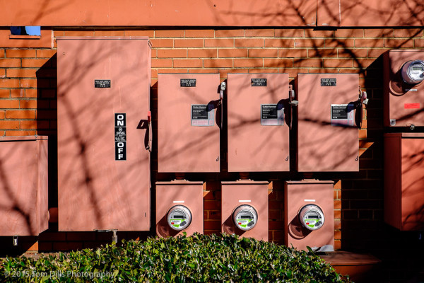 Random electric meters, Charlotte NC