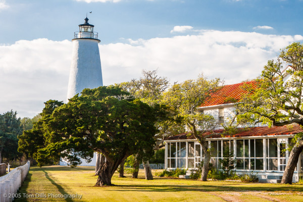 Ocracoke Lighthouse, Ocracoke Island, North Carolina