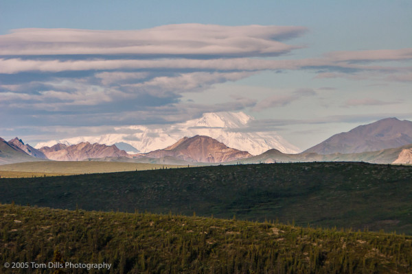 Mount McKinley from Stony Hill Overlook-Denali National Park & Preserve, Alaska
