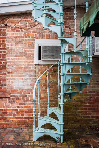 Spiral Staircase, Fernandina Beach, Amelia Island, FL