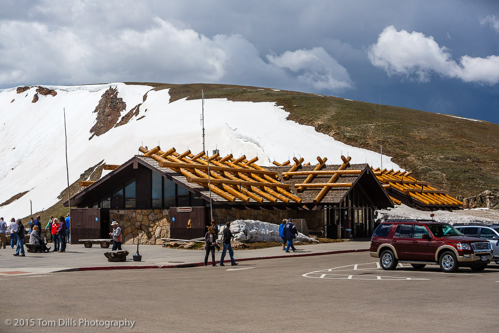 Alpine Visitor Center along Trail Ridge Road in Rocky Mountains National Park