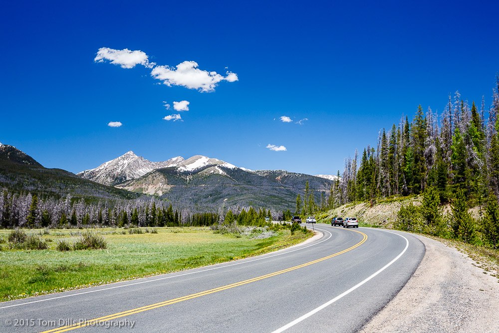 Along Trail Ridge Road in Rocky Mountains National Park