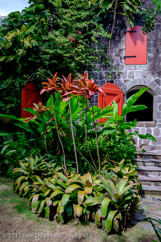 Golden Rock Plantation Inn in Nevis, West Indies