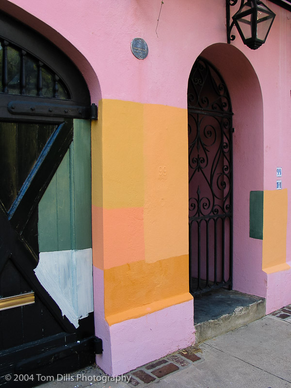 Paint Samples, Charleston, South Carolina