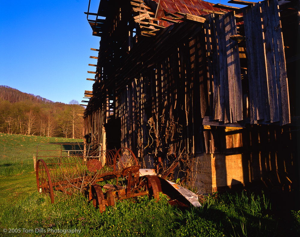 Old Barn near Lake Junaluska, NC