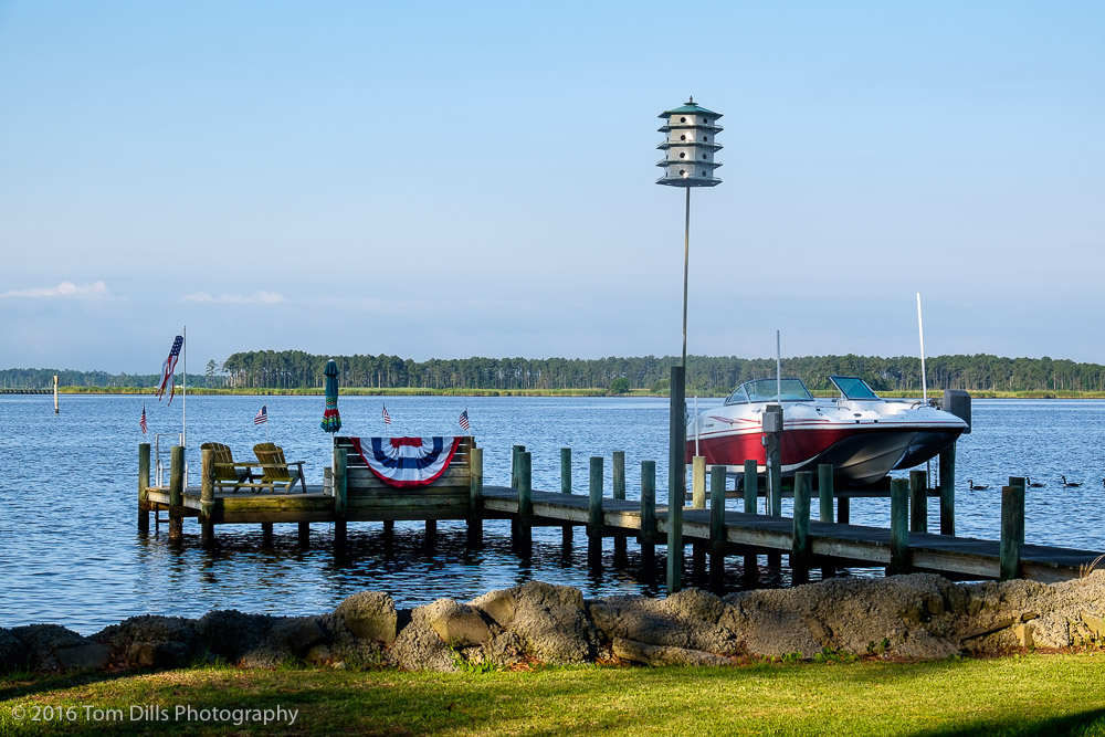 Fourth of July in Belhaven, North Carolina