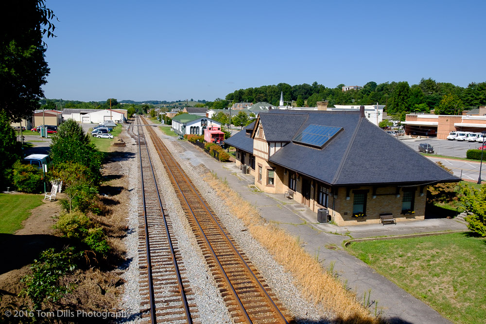 Train Station in Abingdon Virginia