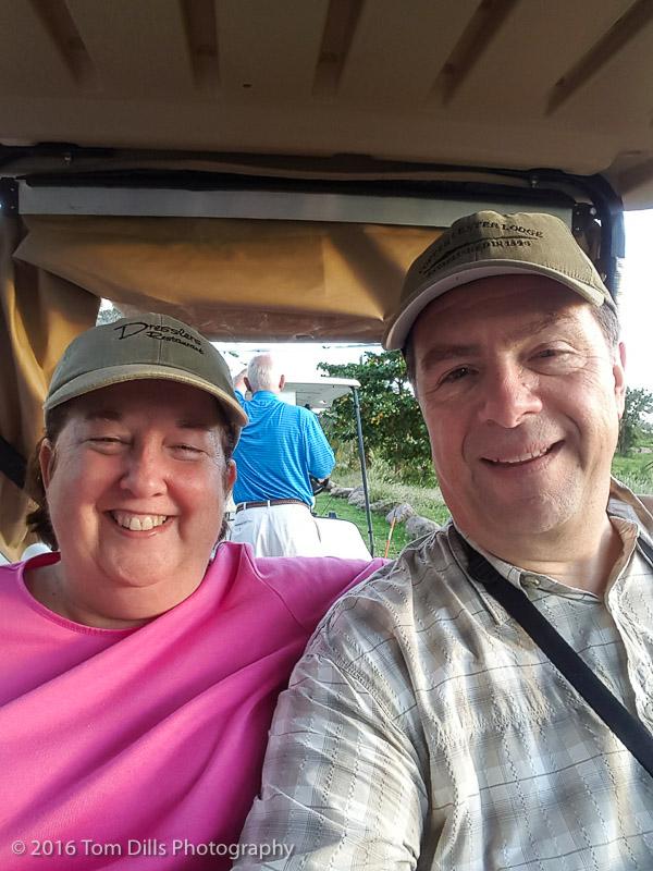 Golf course tour at Four Seasons, Nevis West Indies