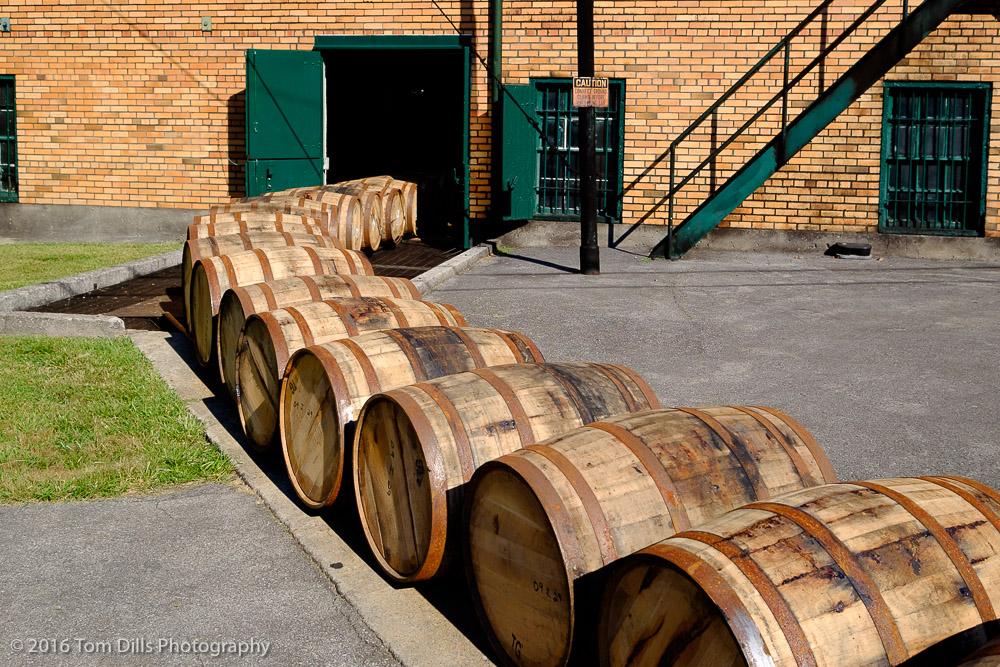 Buffalo Trace Distillery, Frankfort Kentucky